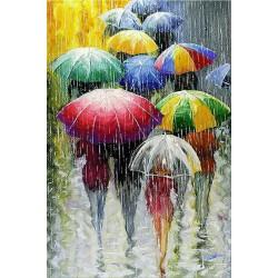 Malování podle čísel Barevné deštníky M1069 Gaira - 1