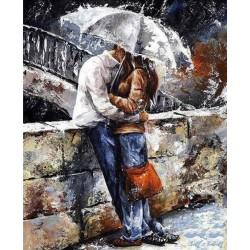 Malování podle čísel Pár pod deštníkem M1034 Gaira - 1