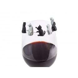 Značkovač skleniček - kočičky UZD - 1