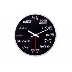 Matematické hodiny - černé 2GS - 1