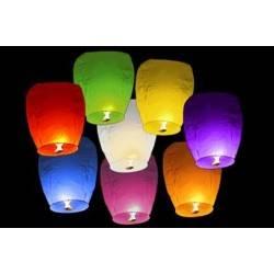 Lampiony štěstí 10 ks mix barev 2GS - 2