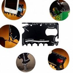 Ocelová multifunkční karta Wallet Ninja 18v1 2GS - 1