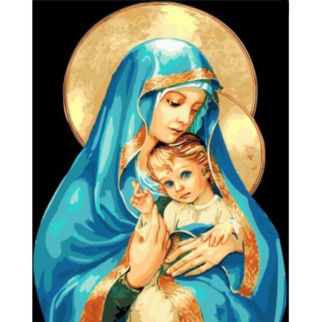 Malování podle čísel Marie a Ježíšek M991236 Gaira - 1
