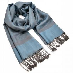Šála teplá - modro-šedá BI - 1