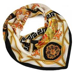 Šátek - bílý s potiskem BI - 2