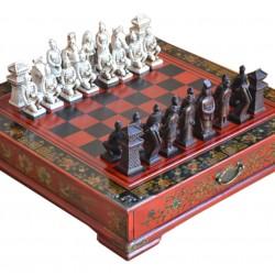 Šachy Terracottova armáda 26x26cm Gaira® - 1