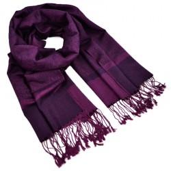Šála teplá - tmavě fialová BI - 1