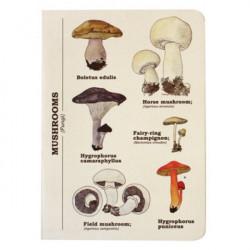 Blok s houbami UZD - 1