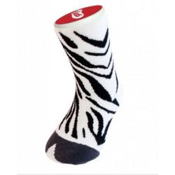 Dětské bláznivé ponožky - zebra UZD - 1