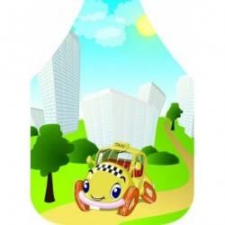 Dětská zástěra Taxi