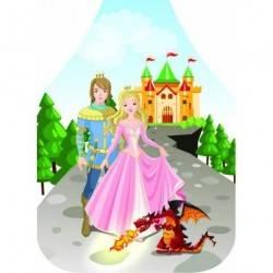 Dětská zástěra Princezna