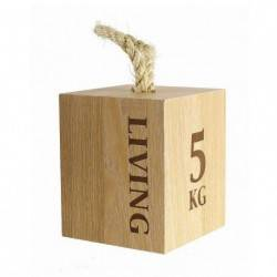 Zarážka do dveří Living, dřevo 2GS - 1