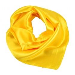 Šátek saténový - žlutý BI - 1