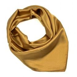 Šátek saténový 63sk001-13 - zlatý BI - 1