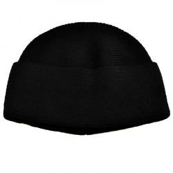 Pletená panská čepice - černá BI - 1