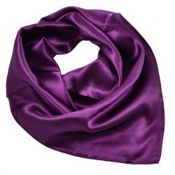 Šátek saténový - fialový BI - 1