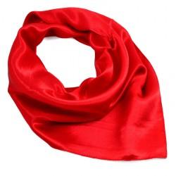 Šátek saténový - jasně červený BI - 1