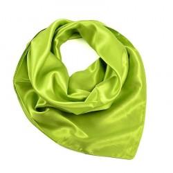Šátek saténový - zelený BI - 1