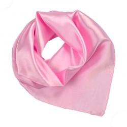 Šátek saténový - růžový BI - 1