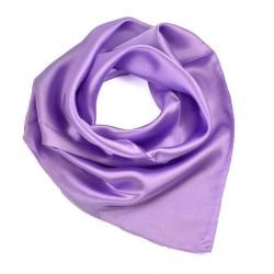 Šátek saténový - bledě fialový BI - 1