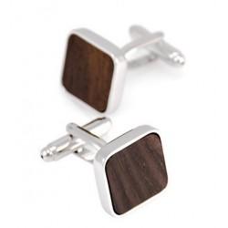 Dřevěné manžetové knoflíčky 709114 Gaira - 1
